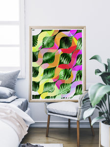 Tropicalia 1 Abstract Poster Print