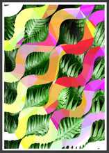 Load image into Gallery viewer, Tropicalia 1 Glitch Art Print Gorgeous Botanical Print