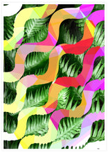 Load image into Gallery viewer, Tropicalia 1 Glitch Art Print