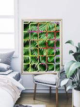 Load image into Gallery viewer, Tropicalia 4 Tropical Leaf Art Print