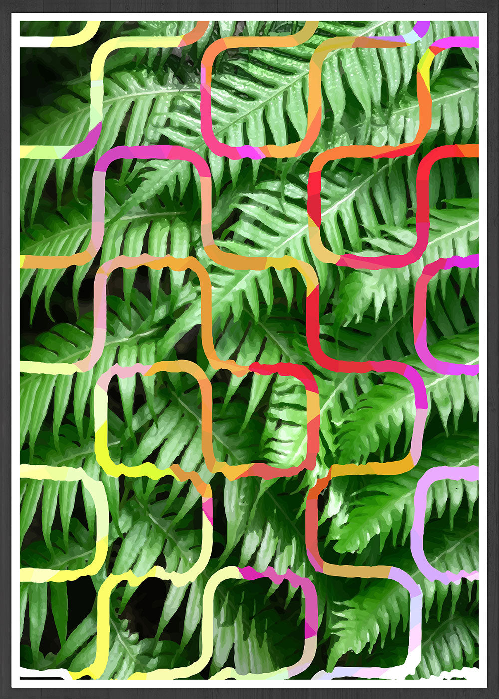 Tropicalia 4 Tropical Leaf Art Print
