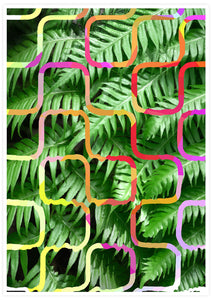 Tropicalia 4 Tropical Leaf Art Poster