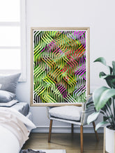 Load image into Gallery viewer, Tropicalia 7 Tropical Leaves Poster Art