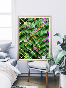 Tropicalia 8 Palm Print Wall Art