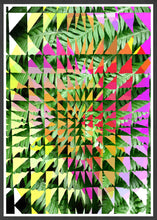 Load image into Gallery viewer, Tropicalia 11 Glitch Art Print