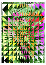 Load image into Gallery viewer, Tropicalia 11 Glitch Art Poster