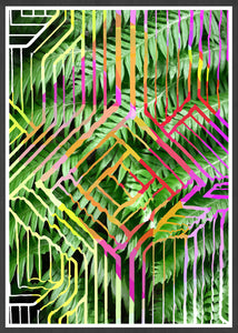Tropicalia 12 Abstract Art Print