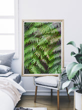 Load image into Gallery viewer, Tropicalia 13 Glitch Art Poster Print