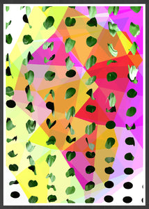 Tropicalia 14 Tropical Abstract Print