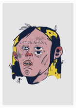 Load image into Gallery viewer, Ugly Boy Portrait Drawing Print