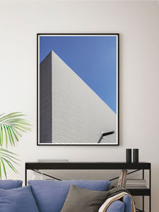 Uni Campus Abstract Photography Print in a modern room