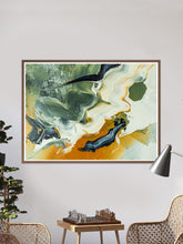Load image into Gallery viewer, Walk Fine Art Print in a traditional room
