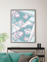 Load image into Gallery viewer, Whisper Botanical Print in a wall
