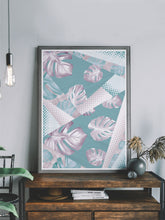 Load image into Gallery viewer, Stunning Whisper Botanical Print in a modern room