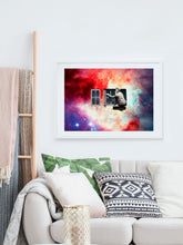 Load image into Gallery viewer, Window in the Sky Collage Print