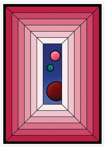 The Window Abstract Surreal Art not in a frame
