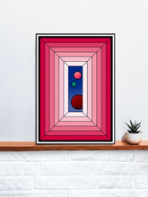 Load image into Gallery viewer, The Window Abstract Surreal Art on a Shelf