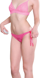 Eve's Rechargeable Vibrating Panty - Pink-Luvviu