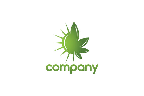Logo Design - Shiny Cannabis
