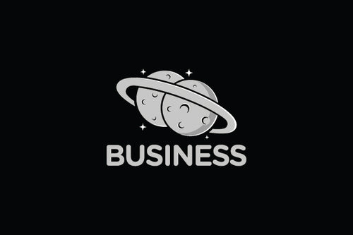 Logo Design - Twin Planets