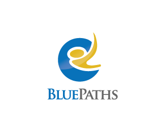 Logo Design - Blue Paths