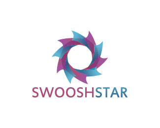 Logo Design - Swoosh Star
