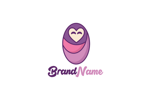 Logo Design - Love Baby