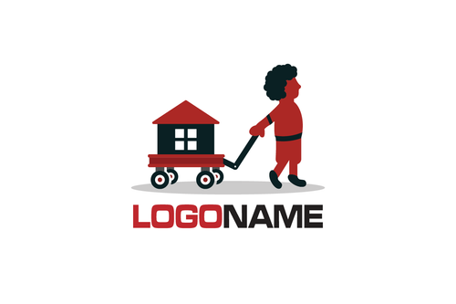 Logo Design - Home Search