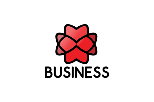 Logo Design - Heart Cross
