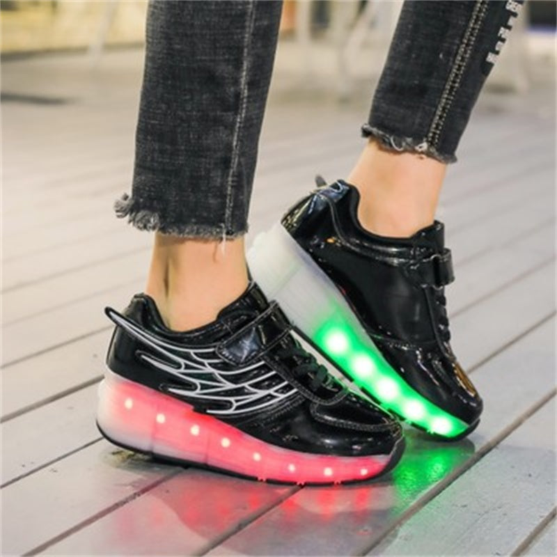 (50% OFF) LED Fashion Skate Sneakers