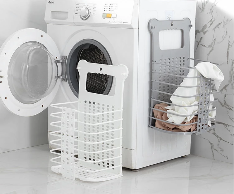 (BUY 2 FREE SHIPPING)50% OFF TODAY—Foldable Hollow Clothes Basket
