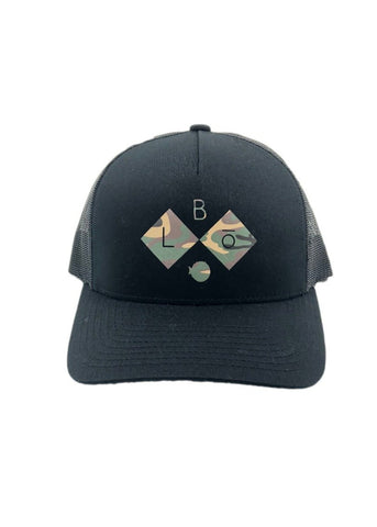 DIAMOND. | SNAP-BACK MESH. |