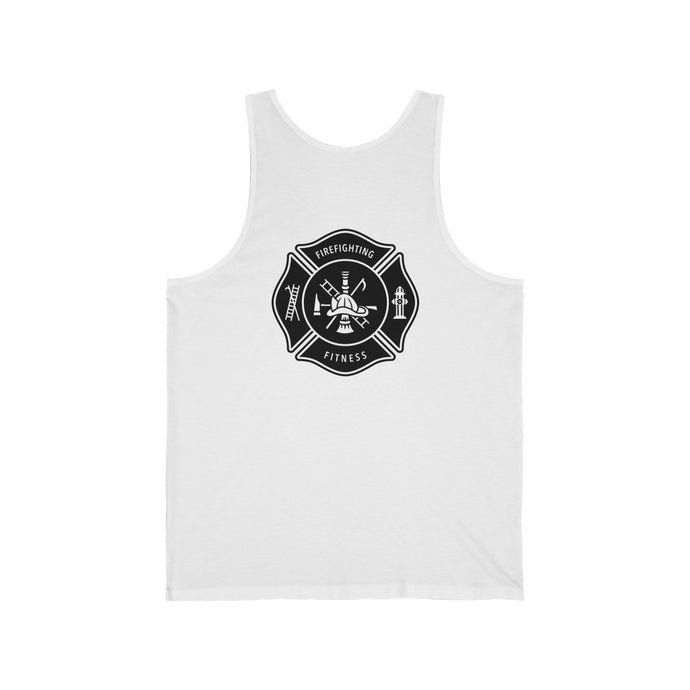 Unisex Jersey Tank Firefighting Fitness