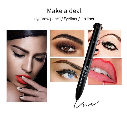 4 In 1 Multifunctional Automatic Eyebrow Pencil - 007Shoop