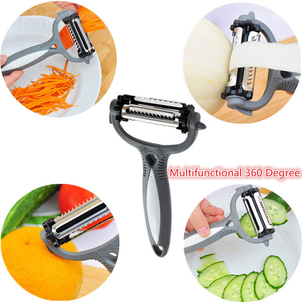 3-In-1 Rotational Vegetable Peeler - 007Shoop
