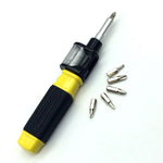 6 in 1 Screwdriver - 360 Degree Twist Bit - 007Shoop