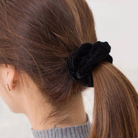 1 Pc Women Velvet Solid Elastic Hair