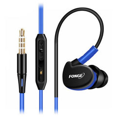 Wire Waterproof Earhook Headphone