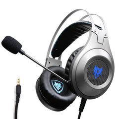 Computer Stereo Gaming with Mic Headphones