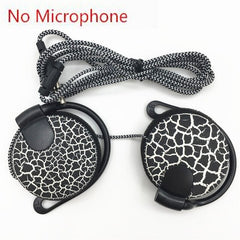 Sport Crack Ear Hook Headphones