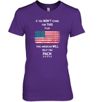 Stand for This Flag Women's Nano