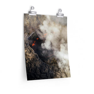 Hawaii Volcano - Vertical Print