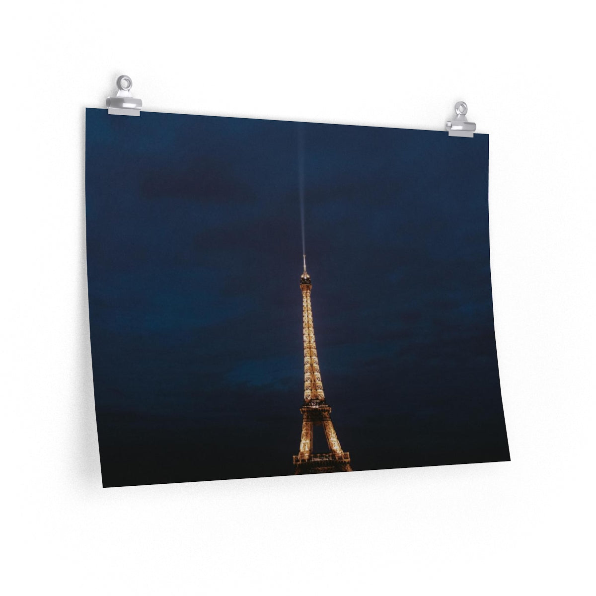 Crepes at the Tower - Horizontal Print