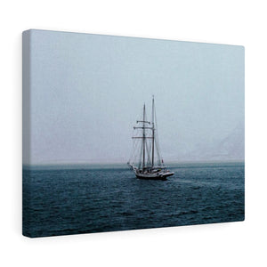 Norwegian Pirate Ship - Wide Canvas
