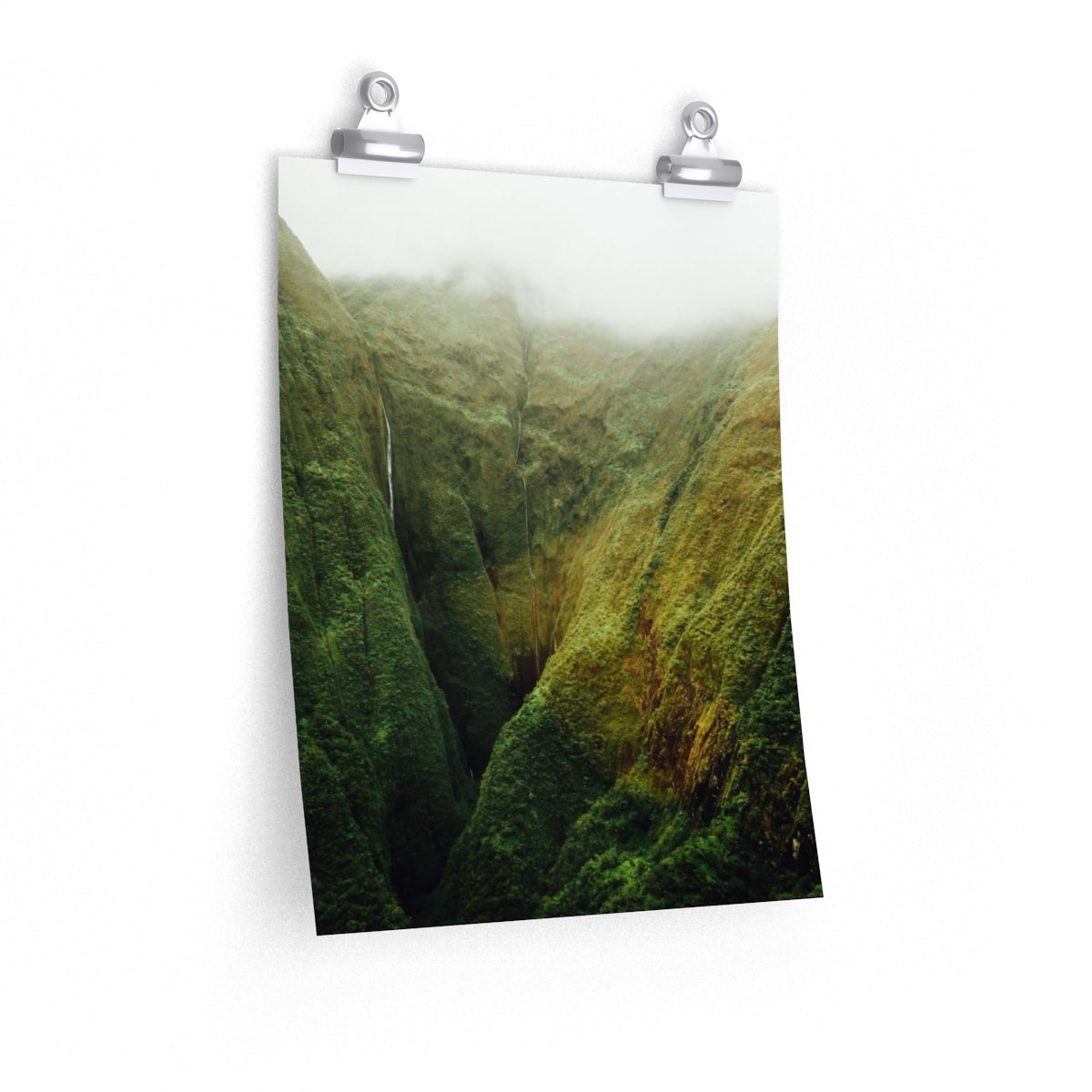 Hawaii Waterfall - Vertical Print
