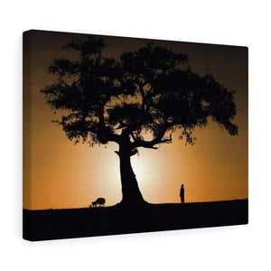 African Sunrise - Canvas