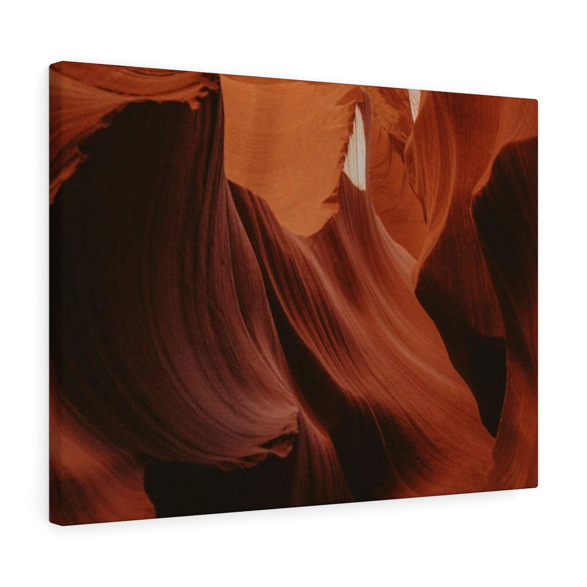 Orange Waves - Canvas