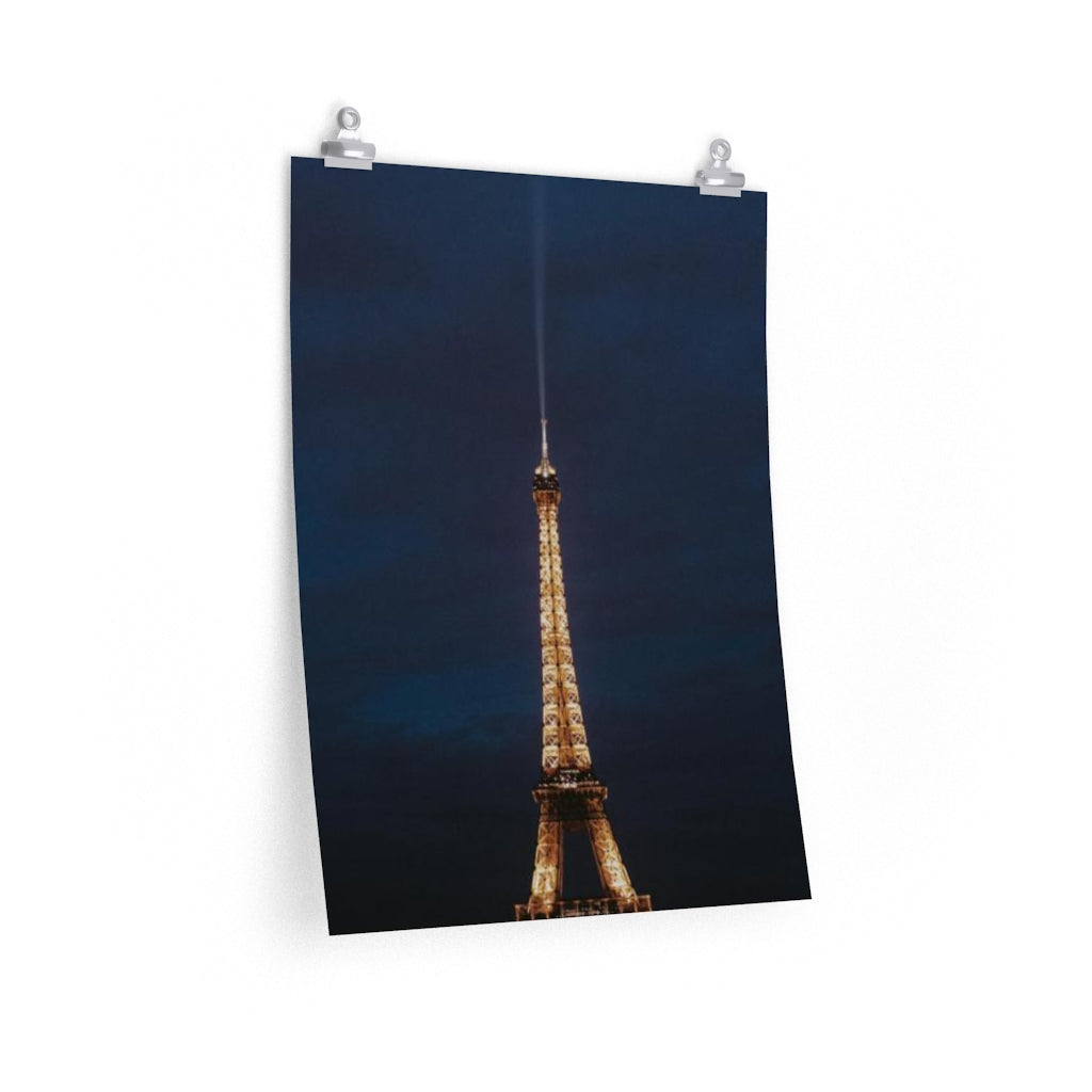 Crepes at the Tower - Vertical Print