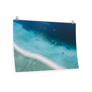 Maldives Seaplane - Wide Print