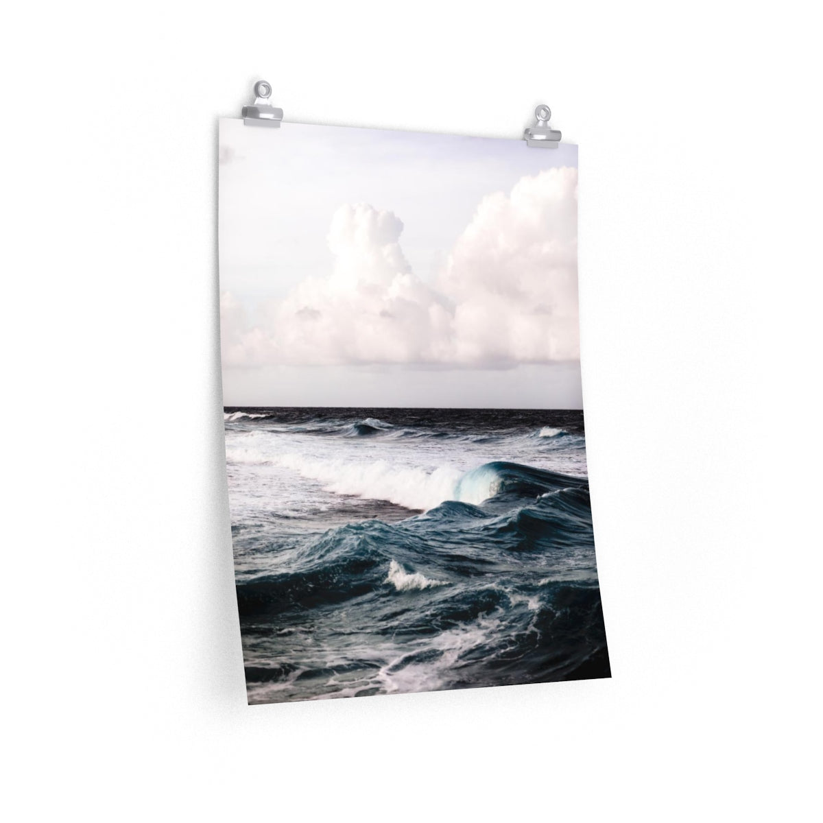 Aruba Wave - Vertical Print